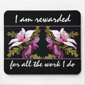 Abundance Affirmation Motivational Mousepad
