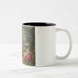 Abundance and the Four Elements, c.1606 (oil on co Two-Tone Mug