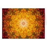 Abundance Mandala Greeting Card