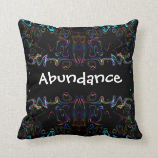 Abundance: Modern Art Cushion