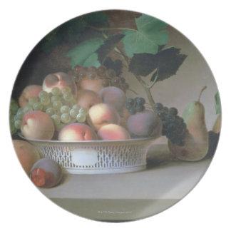 Abundance of Fruit Dinner Plates