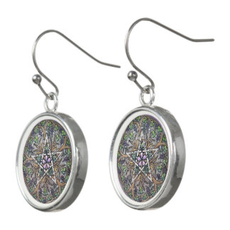 Abundance Pentacle DropEarrings Earrings