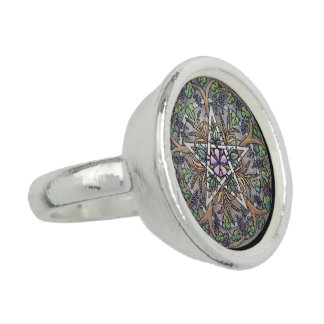 Abundance Pentacle Ring