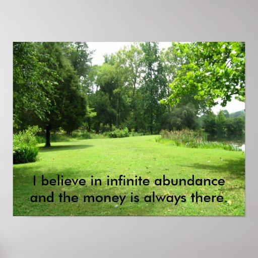 Abundance Poster