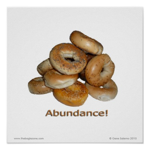 Abundance! Poster