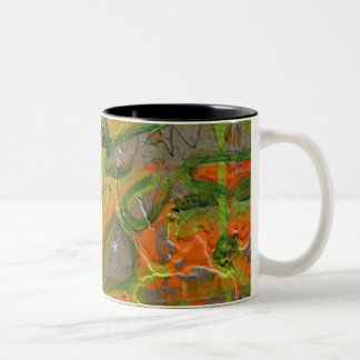 """Abundance"" Two-Tone Coffee Mug"