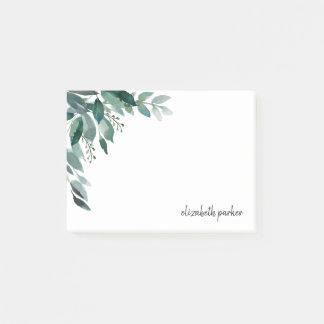 Abundant Foliage Personalized Post-it Notes