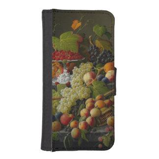 Abundant Fruit, 1858 (oil on canvas) iPhone SE/5/5s Wallet Case