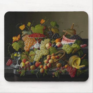 Abundant Fruit, 1858 (oil on canvas) Mouse Mat
