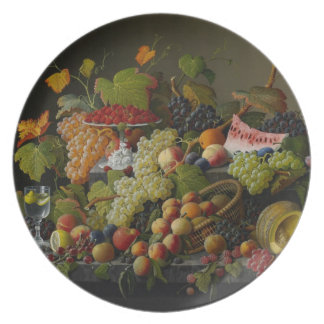 Abundant Fruit, 1858 (oil on canvas) Plate