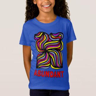 """Abundant"" Girls' Fine Jersey T-Shirt"