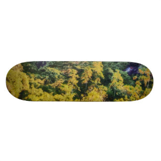 Abundant greenery 21.6 cm skateboard deck