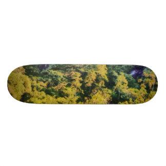 Abundant greenery skate board decks