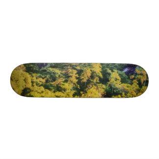 Abundant greenery skateboards