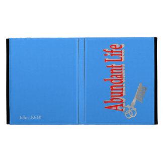 Abundant Life: The Key - v1 (John 10:10) iPad Folio Cover