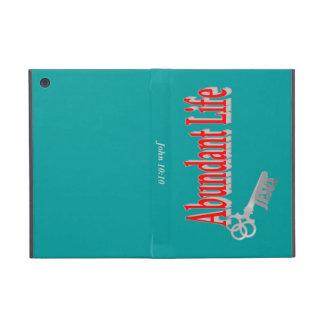 Abundant Life: The Key - v1 (John 10:10) Covers For iPad Mini