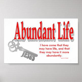 Abundant Life: The Key - v1 (John 10:10) Print