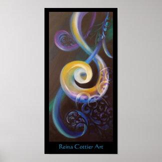 Abundant Poster ~ Reina Cottier Art