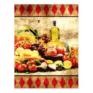 Abundant Table Postcard