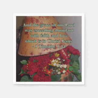 Abundant with Faith Disposable Serviette