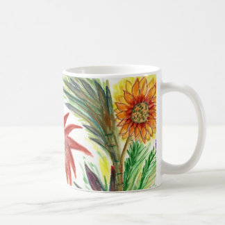 Abundant Zinnias Coffee Mug