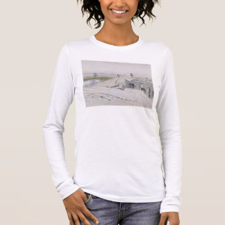 Abydus, 1pm, 12th January 1867 (ink and watercolou Long Sleeve T-Shirt