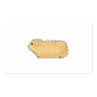 Abyssinian Guinea Pig. Business Card
