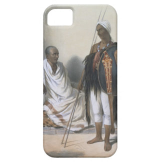 Abyssinian Priest and Warrior, illustration from ' iPhone 5 Covers