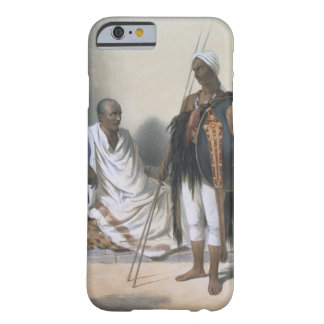 Abyssinian Priest and Warrior, illustration from ' Barely There iPhone 6 Case
