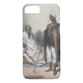 Abyssinian Priest and Warrior, illustration from ' iPhone 8/7 Case