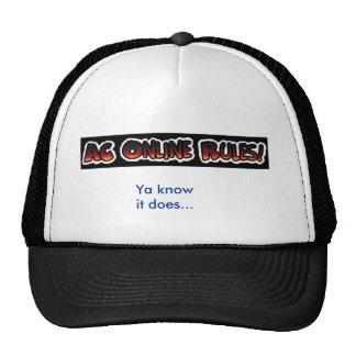 AC 0nline Rules Hat