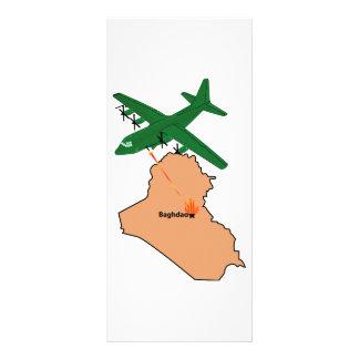 AC-130 Spectre - Baghdad Rack Card Template