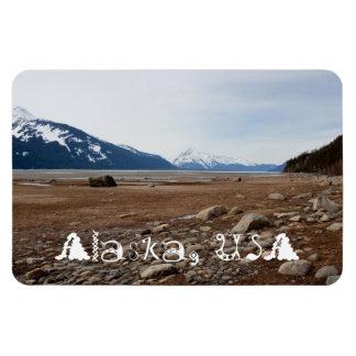 AC Alaskan Coast Rectangular Photo Magnet