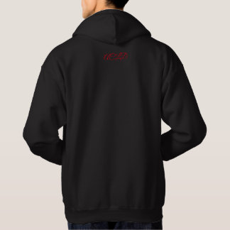 AC Clothing Logo and Motto Hooded Sweatshirt