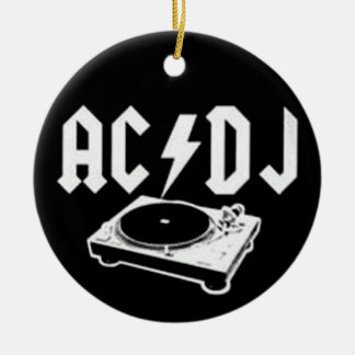 AC DJ ORNAMENT