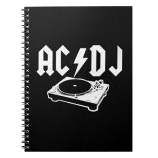 AC DJ NOTEBOOK