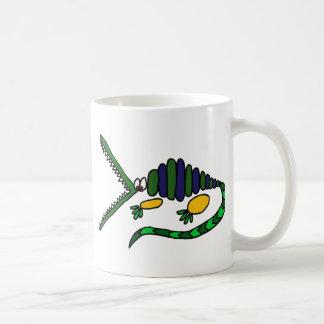 AC- Funky Crocodile Art Coffee Mug