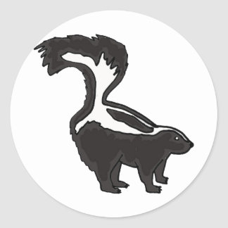 AC- Funny Skunk Stickers