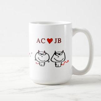 """AC heart JB"" Coffee Mug"