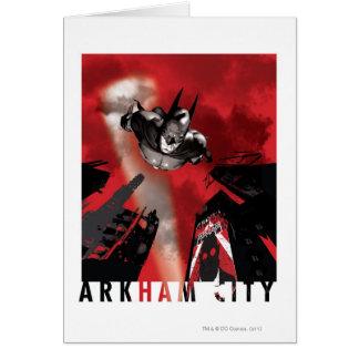 AC Poster - Batman flying Card