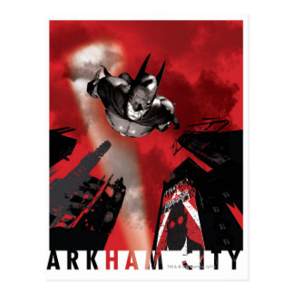 AC Poster - Batman flying Postcard