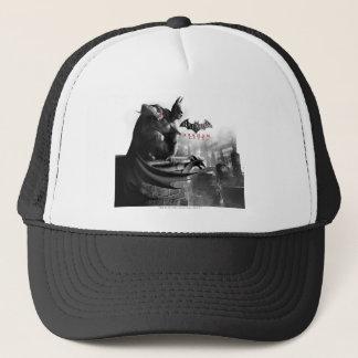 AC Poster - Batman Gargoyle Ledge Trucker Hat