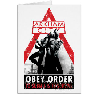 AC Propaganda - Obey/To Submit Is To Survive Card
