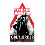AC Propaganda - Obey/To Submit Is To Survive Postcard