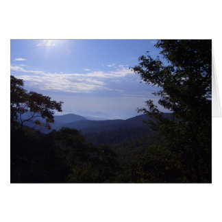 AC- Sunrise in the Mountains Notecards Card
