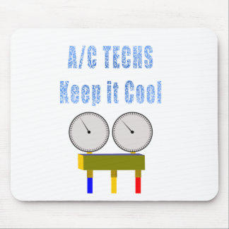 AC Techs Keep it Cool.png Mouse Pads