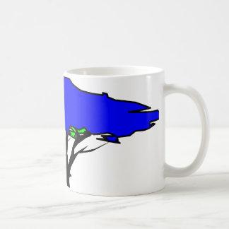 Acacia Trees Basic White Mug