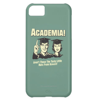 Academia: Tasty Nuts From Hawaii iPhone 5C Case