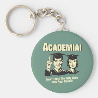 Academia: Tasty Nuts From Hawaii Key Ring