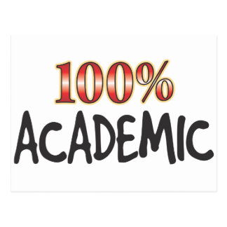 Academic 100 Percent Postcards